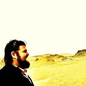 Me at the Mud Volcanoes
