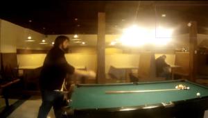 Shawn Failing at Pool